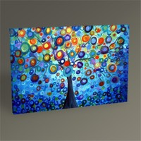 Tablo 360 Abstract Tree V Tablo 45X30