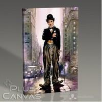 Pluscanvas - Charlie Chaplin - The Kid Tablo