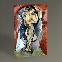 Tablo 360 Georges Braque Large Nude 45X30