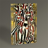 Tablo 360 Fernand Leger The Balcony 45X30