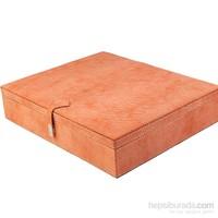 Dearybox Tek Bölmeli Deri Kaplamalı Kutu