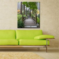 Canvastablom Kr36 Köprü Kanvas Tablo