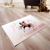 Cici Halı Pastel Atlı Çocuk Halısı 90X140 Cm