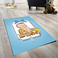 Cici Halı Kutu İçinde Bebek Çocuk Halısı 90X140 Cm