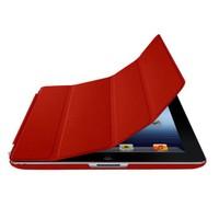 Romeca iPad 2/New iPad Kırmızı 2 in 1 Smart Cover