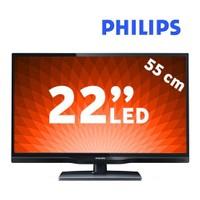 """Philips 22PFL3108H 22"""" 100Hz UsbMovie Full HD LED TV"""