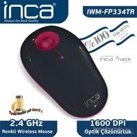 Inca Vivre IWM-FP334TR Inca-Track 1600 Dpi Wireless Nano Alıcılı Siyah Pembe Mouse