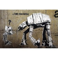 Urbangiftbanksy Im Your Father Photo Magnet 6*9Cm