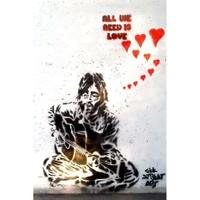 Urbangiftjohn Lennon All You Need Is Love Photo Magnet 6*9Cm