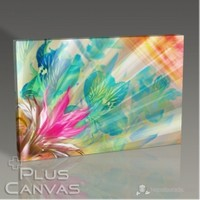 Pluscanvas - Floral Abstract Tablo