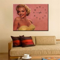 Canvastablom Cl129 Marilyn Monroe Kanvas Saat