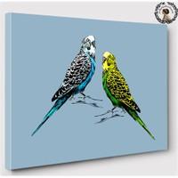Artred Gallery 50X70 Muhabbet Kuşları Tablo