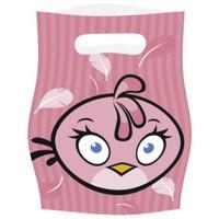 Parti Paketi Angry Birds Pink Hediye Poşeti
