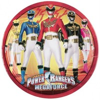 Pandoli Power Rangers Tabak 23 Cm 8 Adet
