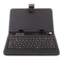 """Concord 7"""" Türkçe Klavyeli Siyah Tablet Kılıfı + 5 adet Hediye"""
