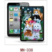 I-Techgear iPad Mini 1/2/3 - 3D Hologramlı Kediler Arka Kapak (ITG-MN-338)