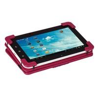"Eye-Q EQ-LTAB7RED 7"" Kırmızı Suni Deri Universal Tablet Kılıfı"