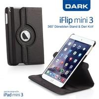 Dark iPad Mini Retina 2 / 3 360° Dönebilen Siyah Kılıf (DK-AC-IPM3KRT)