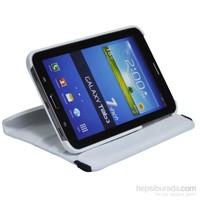 Classone Mila Samsung Tab4 T230 Beyaz Tablet Kılıfı