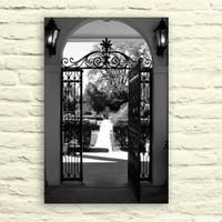 Fotocron Bahçe Kapısı Tablo 24X34 Cm