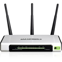 TP-LINK TL-WR941ND 300 Mbps N Kablosuz 4 Portlu 3x3dBi Değiştirilebilir Antenli WPS QoS Virtual Server DMZ Host Router