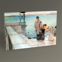Tablo 360 Sir Lawrence Alma Tadema The Kiss Tablo 45X30