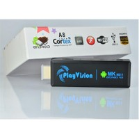 PlayVision MK802 II Android 4.0 - 1GB DDR3 - ARM Cortex A10 İşlemci - WiFi - HDMI TV DONGLE