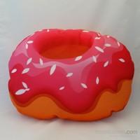 Zey Tasarım Donut Figürlü Kumaş Yastık