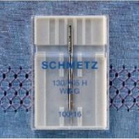 Schmetz Kenar Bastırma İğnesi (Gevşek Dokulu Kumaşlar Süs Dikişleri) 120 Numara Tekli Paket