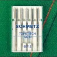Schmetz Universal Nakış İğnesi Uzun İğne Deliği 80 Numara 5'li Paket