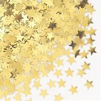 Pandoli Yıldız Figürlü Sarı Renk Masa Üzeri Serpme Konfeti 15 Gr