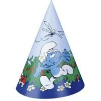 Pandoli Şirinler Külah Şapka 6 Adet