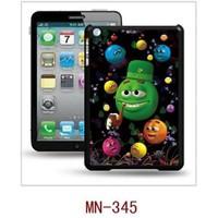 I-Techgear iPad Mini 1/2/3 - 3D Hologramlı Pipolu Surat Arka Kapak (ITG-MN-345)