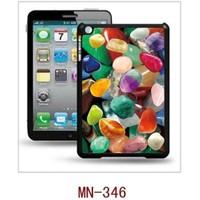 I-Techgear iPad Mini 1/2/3 - 3D Hologramlı Renkli Taşlar Arka Kapak (ITG-MN-346)