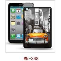 I-Techgear iPad Mini 1/2/3 - 3D Hologramlı Sarı Araba Arka Kapak (ITG-MN-348)