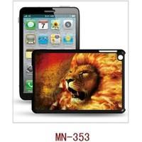 I-Techgear iPad Mini 1/2/3 - 3D Hologramlı Alevli Aslan Arka Kapak (ITG-MN-353)