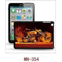 I-Techgear iPad Mini 1/2/3 - 3D Hologramlı Alevli Motor Arka Kapak (ITG-MN-354)