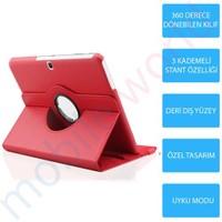 """Mobile World Samsung Galaxy T210 7"""" 360 Derece Dönebilen Kırmızı Kılıf"""