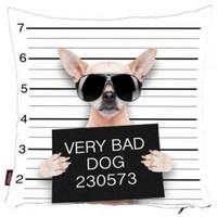 Bengü Accessories Köpek Desenli Dekoratif Yastık 7 40X40 Cm