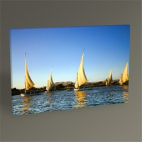 Tablo 360 Felucca On The Nile River Tablo 45X30