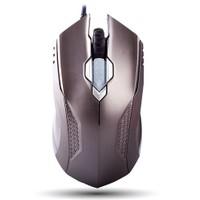 Everest SMX-308N Metal / Gri Desenli Kablolu 6D Optik Oyun Mouse