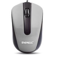 Everest SM-249 Kablolu Gümüş/Siyah Optik Mouse
