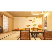 Iwall Resimli Sonbahar Yaprakları Duvar Kağıdı 180X130
