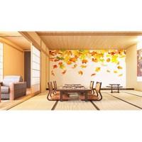 Iwall Resimli Dökülen Yapraklar Duvar Kağıdı 370X250