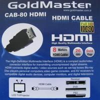 Goldmaster CAB-80 Hdmı Kablo (8 metre)