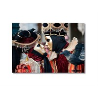 Tictac Venedik Mask 2 Kanvas Tablo - 50X75 Cm