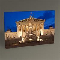 Tablo 360 Vienna Parliament Building Tablo 45X30