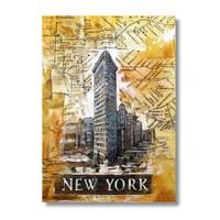 Ritmo-Popart Newyork Kanvas Tablo