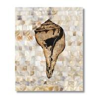 Ritmo-Mozaik Denizkabuğu Kanvas Tablo