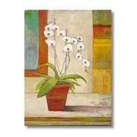 Ritmo-Saksidaki Çiçekler Kanvas Tablo